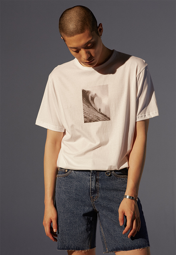 Wave T-shirt_ White