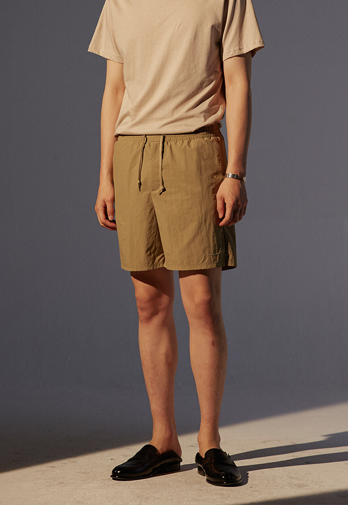 Signature Swim Shorts_ Sand