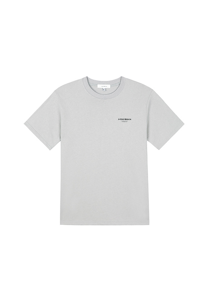 20SS Dept Short-Sleeve T-Shirt_ Light Grey