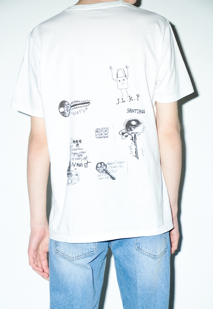 Lock & Roll T-shirt_ White