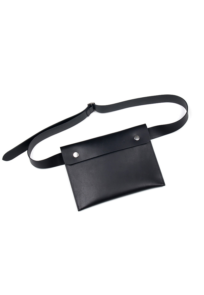 Crudo Belt Bag_ Black