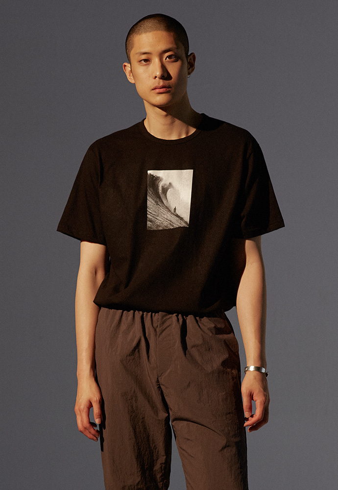 Wave T-shirt_ Black