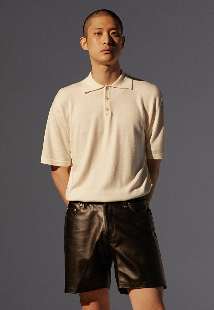 Saint Polo Knit_ Ecru