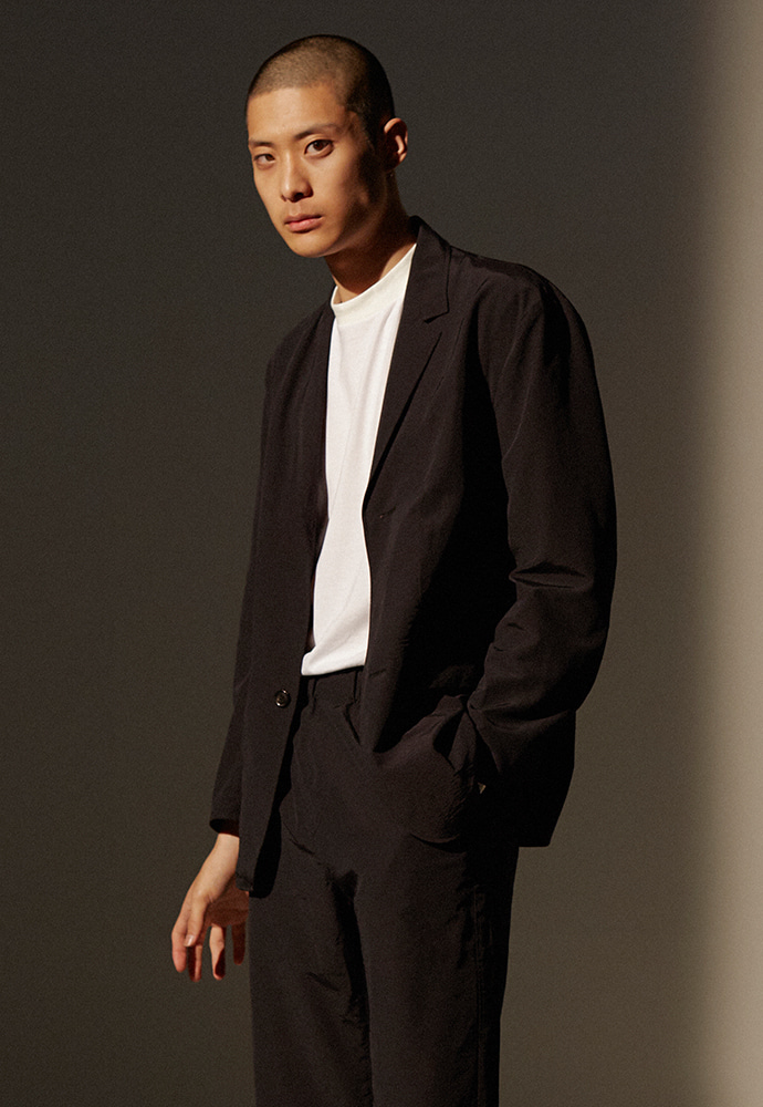 Sloppy Packable Blazer_ Black