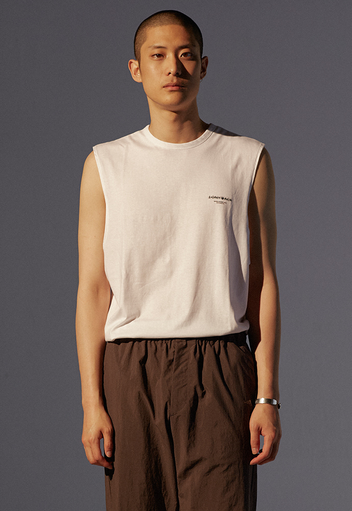 Dept. Sleeveless_ White