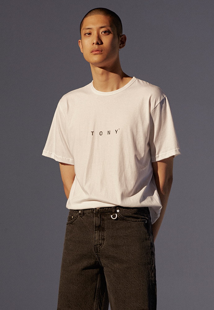 TONY Logo T-shirt_ White