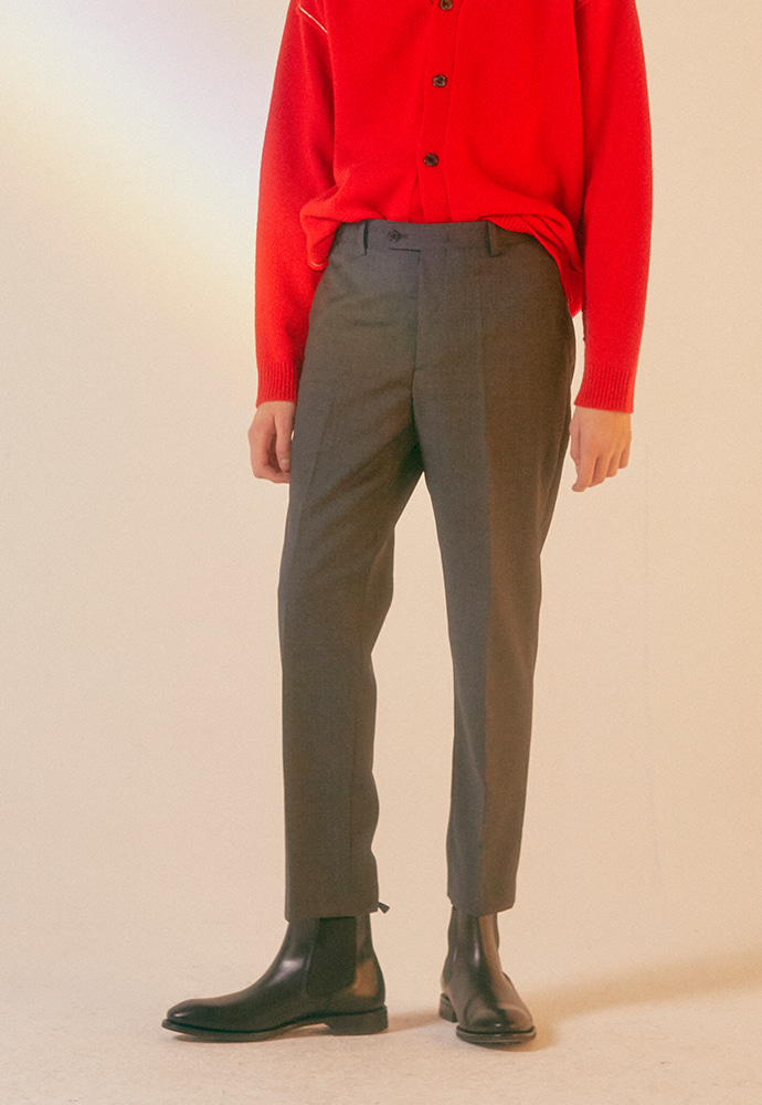 Signature Classic Trousers_ Grey