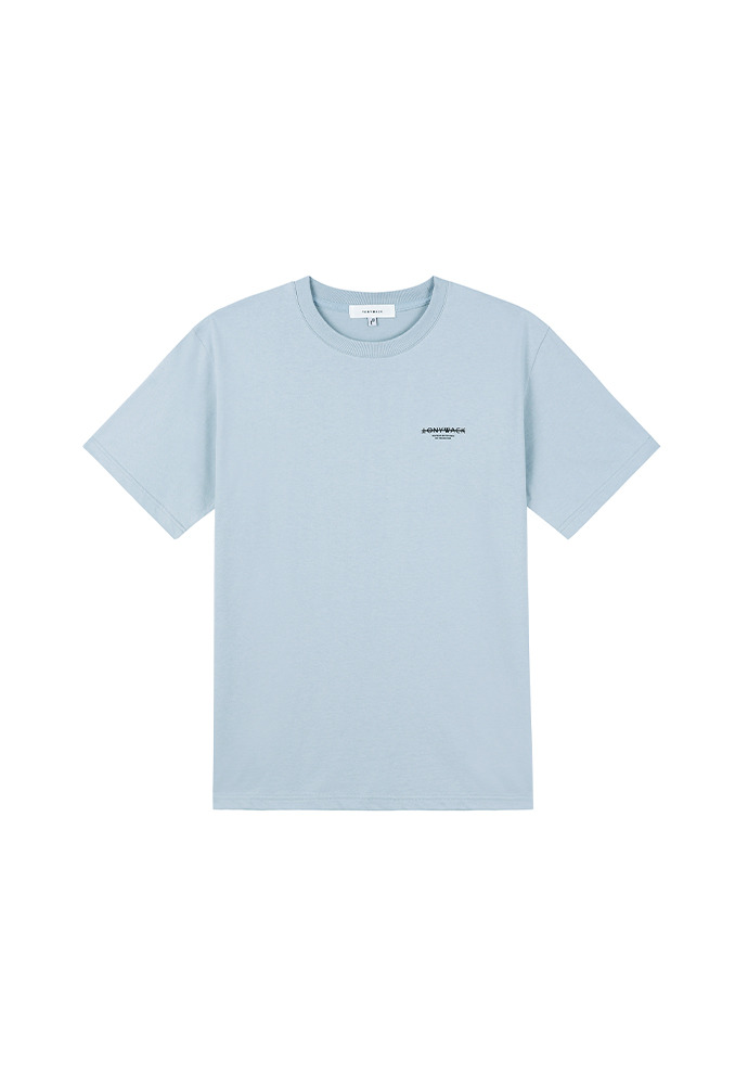 20SS Dept Short-Sleeve T-Shirt_ Grey Blue