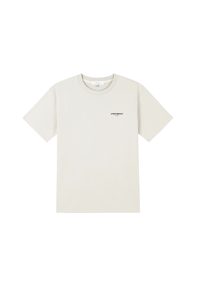 20SS Dept Short-Sleeve T-Shirt_ Light Beige