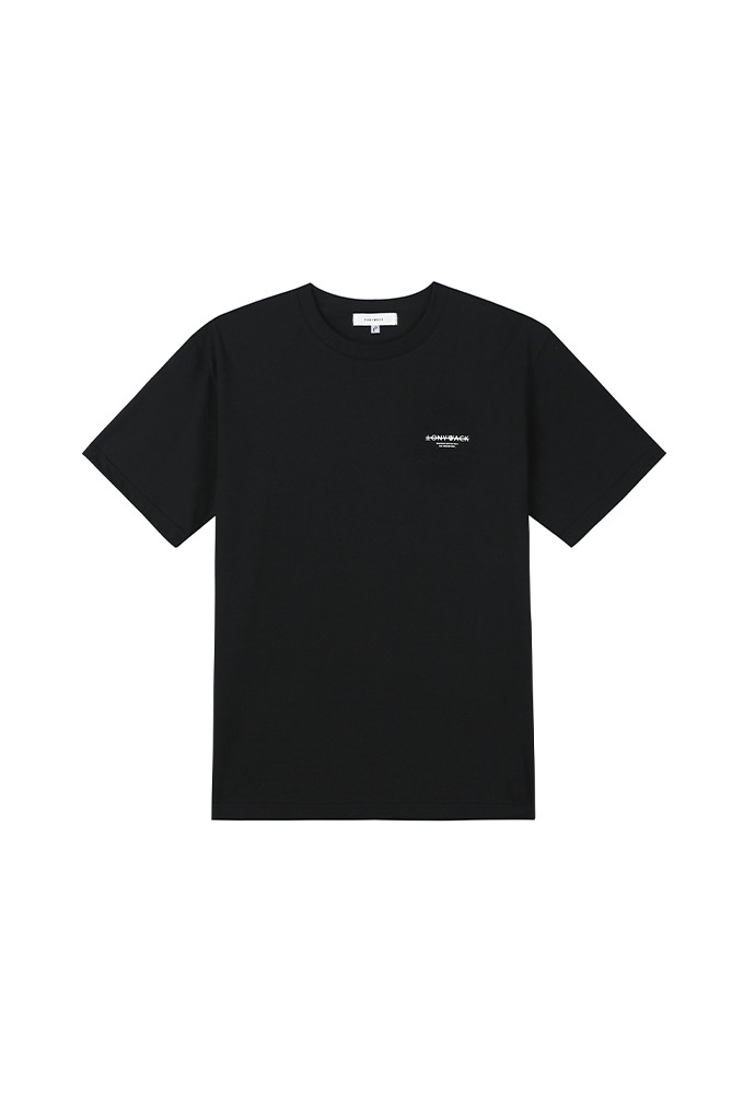 20SS Dept Short-Sleeve T-Shirt_ Black/White