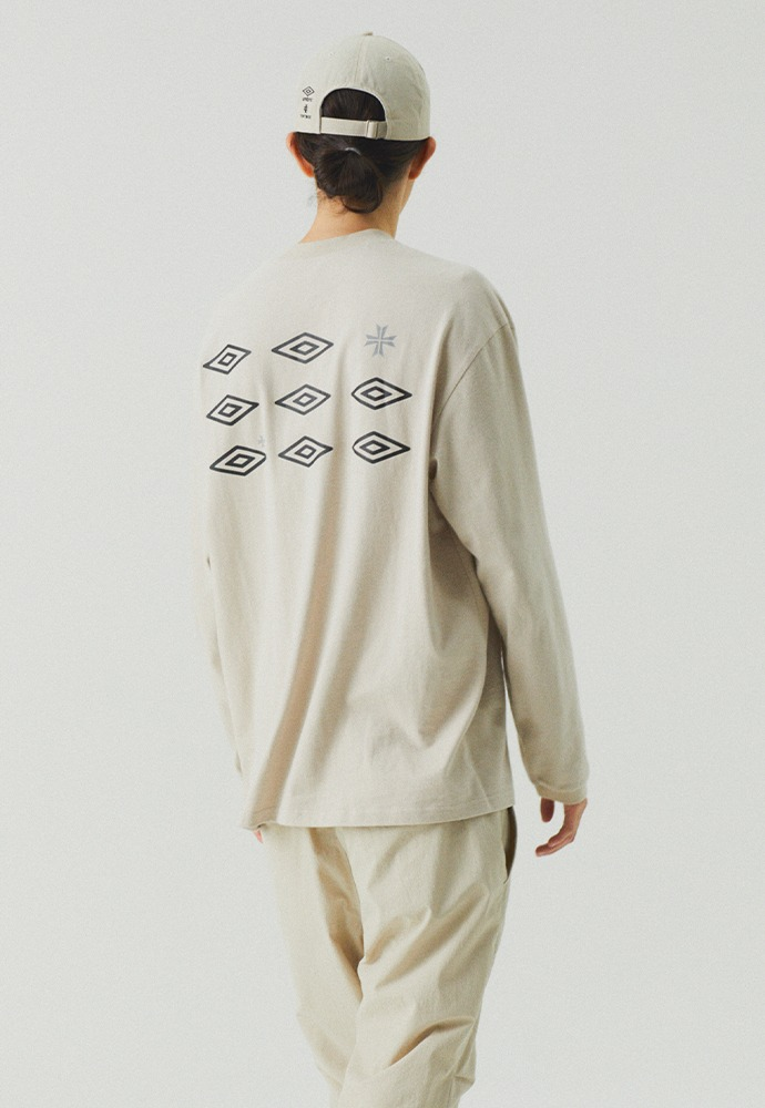 [TONYWACK X UMBRO] Mockneck Long Sleeve_ Cream