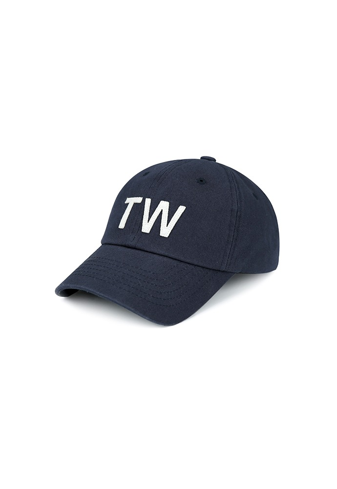 TW-applique Baseball Cap_ Navy
